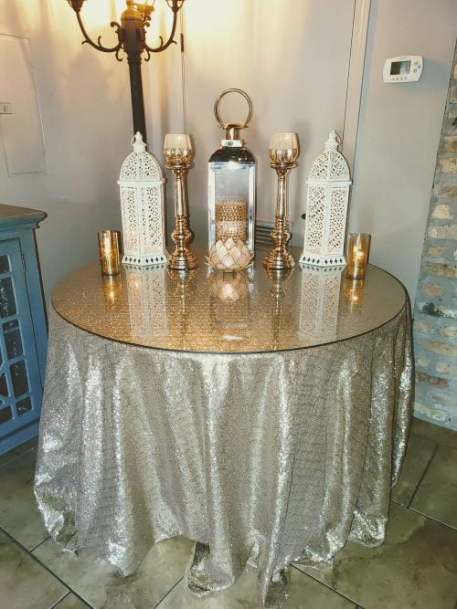Gold Theme with Lanterns and Bling Theme