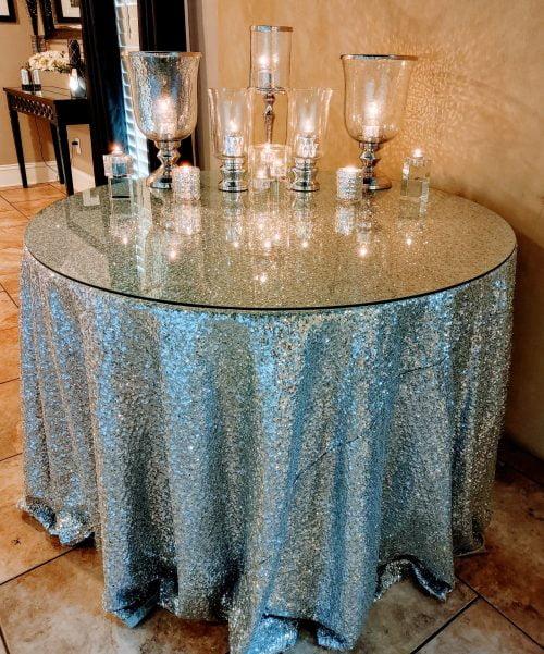 Silver glass theme